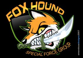Foxhound Logo by TORA-KUN