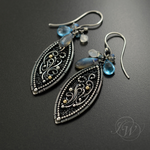 AMANDES -  earrings by JoannaWatracz