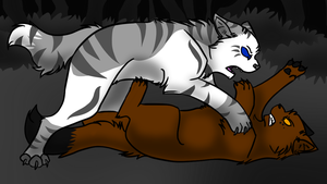 The Phoenix- Antpelt and Ivypool by Fire-Loup
