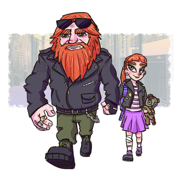 Father's Daughter by SunChief