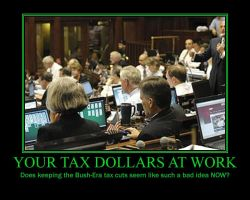 Your tax dollars at work by Zucca-Xerfantes
