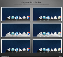 Elegantia docks for Mac by emey87