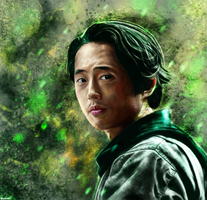The Walking Dead - Glenn Rhee by p1xer