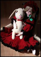 Rozen Maiden Shinku Cosplay 5 by SpicaRy