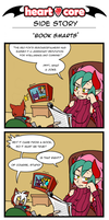 Book Smarts (HeartCore guest strip) by BinaryHavok