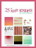 25 icon textures by SeleneSpai by SeleneSpain