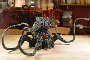 S.H Monsterarts - Biollante (1/10) Overview by GIGAN05