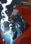 I draw a crappy thor again by CurroHerrero
