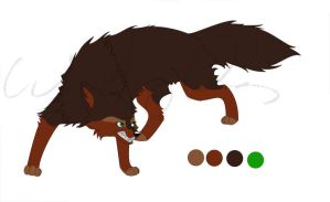 Earthy Wolf by Joava
