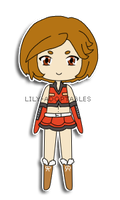 Chibi Vocaloid Meiko by lily-adoptables