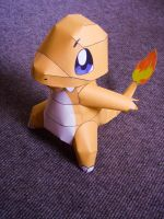 Papercraft Charmander by Njenna