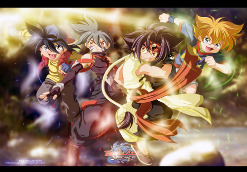Beyblade V-Force(A piece of my childhood) by HollowCN