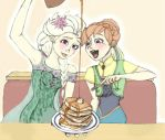 Only For National Pancake Day {Frozen Fever} by CocoaRabbit