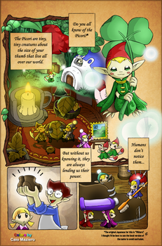 The Legend of Zelda: Minish Cap Coloured (page 6) by Maziero