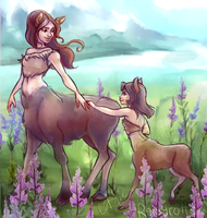 Mythical Mother's Day by relsgrotto