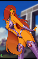 Starfire - Teen Titans by chalice29