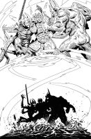 Elric - The Balance Lost 12-9 by francesco-biagini