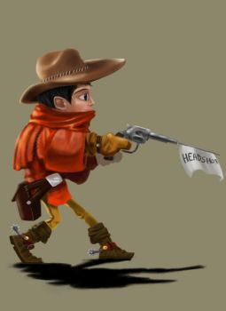 Little Red Cowboy by Lotusblade