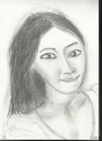 Woman face study n21 by lv888