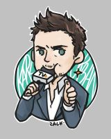 KARL URBAN and his microphone.. by tedizack