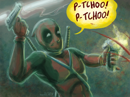 Muro Deadpool by medli20