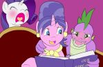 JanSparity Ninth: How the Rarity Crumbles by bico-kun