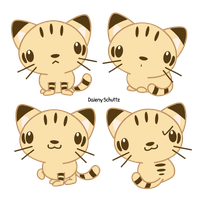 Chibi Sand Cat by Daieny