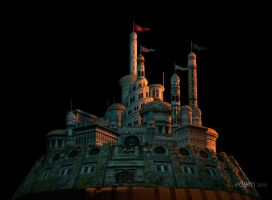 environment 3d II. Castle by edemsxxi