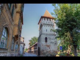 medieval tower... by Iulian-dA-gallery