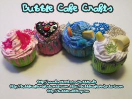 Cafe Cupcakes by BubbleCafe