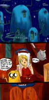 adventure time comic pag 1 by rainbowmostacho