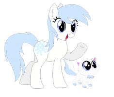 Ice Pony Adopt CLOSED! by ColorsthePegasus