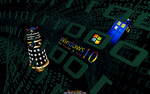 WINDOWS 10: WHOVIAN MATRIX by CSuk-1T
