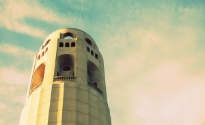 Coit tower by eleyaq