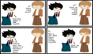 Funny Death Note Comic 14 by EmoAliKat