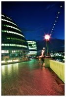 The promenade at the cityhall by BigPhill