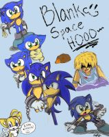 Sonic the-wait, what? Sketches by Chicaaaaa