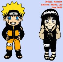 NaruHina Colors by MiaKa-CiD