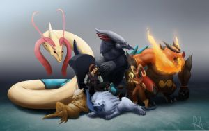 Pokemon Team REDUX! by Legend13
