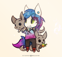 Kaira Chibi by FoxInShadow
