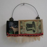 Tiny assemblage: Doggie by bugatha1