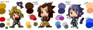 KHBBS Color Reference Sheet by KimYoshiko