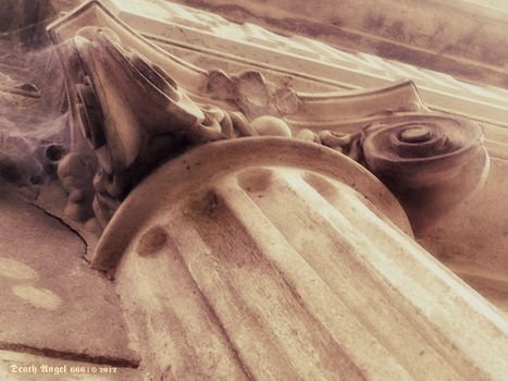Pilaster in a Crypt by DarkDevil72