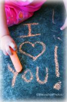 Words in Chalk by MoonShotPhotos