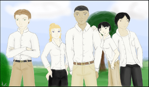 PBS Project Cast - Colored by jacquelynfisher