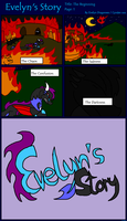 Evelyn's Story Page 1 by BlueEvelyn