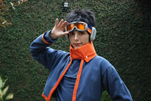 Uchiha obito cosplay by Guilcosplay
