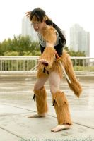 Cosplay - Kouga On The Prowl by chibik3r0