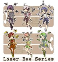 [OPEN $5]Laserbees Series by ryesoul