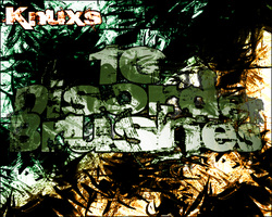 Knux's Disorder Brush Pack by Knux57